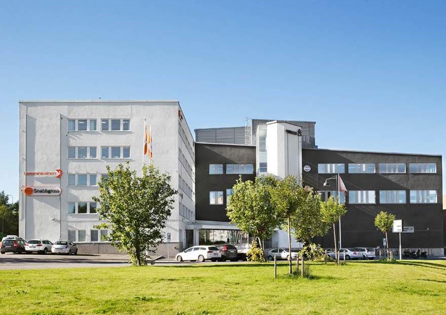 Foto över den nya byggnaden